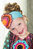 Beautiful smiling little girl Stock Images