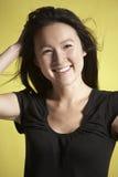 bashful smile Στοκ Φωτογραφίες