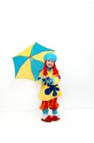 Bashfull Clown Royalty Free Stock Photography