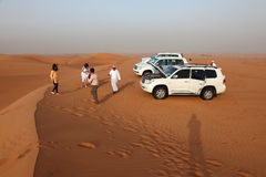 bashing дюна Дубай Стоковые Фото