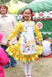 Bashkirochka Un día de fiesta Sabantuy en la república de Bashkortostan Rusia Foto de archivo