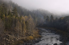 bashkortostan maliy ποταμός νότια Ουράλια i Στοκ εικόνα με δικαίωμα ελεύθερης χρήσης