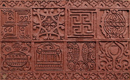 Bashulp in Jain-Tempel, Kolkata Stock Afbeelding