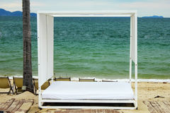 Basi della spiaggia Fotografia Stock