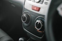 Basic air con control. In a ASEAN car Stock Photography