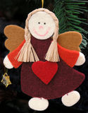 Basic angel. Christmas decorations material Stock Image