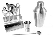Basic bar tools Royalty Free Stock Photo
