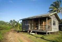 Basic beach house cabana corn island nicaragua Stock Photo