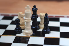 Basic chess pieces Stock Photography