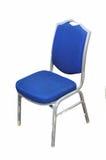 Basic cloth covered office chair. A basic cloth covered office chair, isolated on white stock images