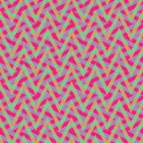 Zigzag Plaid Pattern. Op Art style seamless optical zigzag plaid pattern. AI10 transparency effect royalty free illustration