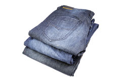 Basic colored denims Stock Photography