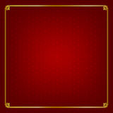 Basic design Chinese style art gold boarder frame element and ab Stock Photo