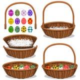 Basic Easter Basket Royalty Free Stock Photos