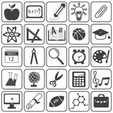 Basic Education Icons Vector Set Royalty Free Stock Photography