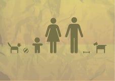 Basic family Royalty Free Stock Image