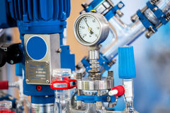 Basic Glass Reactor system for Pilot Plants Stock Photography