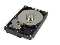 Basic hard drive Royalty Free Stock Images