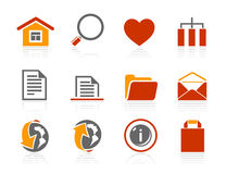Basic and Internet icons | Sunshine Hotel series Stock Images