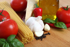 Basic Italian Pasta Royalty Free Stock Images