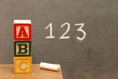 Basic Learning royalty free stock image