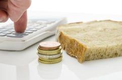 Basic living expenses Royalty Free Stock Photo