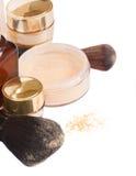 Basic make-up products Royalty Free Stock Photo