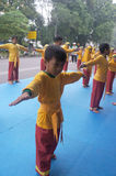 Basic martial arts Stock Photos