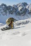 Basic mountaineering equipment Royalty Free Stock Photo