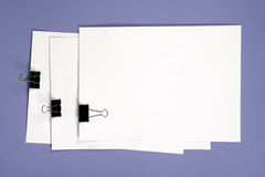 Basic Notebook As A Background Royalty Free Stock Photos