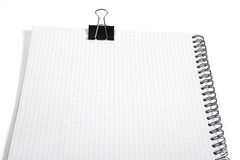 Basic Notebook As A Background Royalty Free Stock Photo