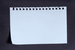 Basic notebook as a background Stock Images