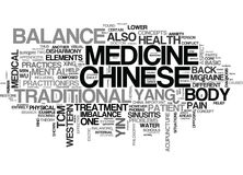 A Basic Overview Of Chinese Medicine Word Cloud Stock Photos