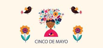 Mexican holiday Dia de Los Muertos. Vector decrative illustration for Mexican holiday Dia de Los Muertos
