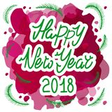 Basic Happy new year 2019 royalty free illustration