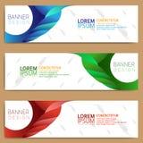 Abstract banner design,modern web template vector illustration