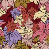Vibrant Flower Punch. royalty free illustration