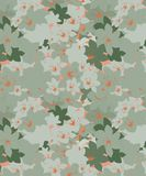 Green cherry blossom Floral Seamless Pattern. The green cherry blossom pattern new design for fabric prints and decor royalty free illustration