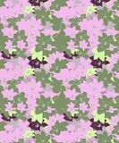 Pink and Gray Seamless cherry blossom Pattern. Pink Gray Seamless cherry blossom Pattern is new design for fabric prints and decoration purpose stock illustration