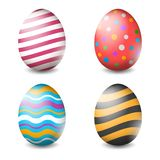 Vector illustration of Easter eggs collection on a white background - Vector. Illustration of Easter eggs collection on a white background - Vector stock illustration