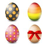 Vector illustration of Easter eggs collection on a white background - Vector. Illustration of Easter eggs collection on a white background - Vector vector illustration