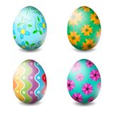 Vector illustration of Easter eggs collection on a white background - Vector. Illustration of Easter eggs collection on a white background - Vector royalty free illustration