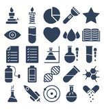 Science and Technology Isolated Vector icons set that can be easily modified or edit vector illustration