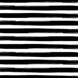 Seamless Interlacing Black and White Watercolor Grunge Stripes Texture Background royalty free illustration
