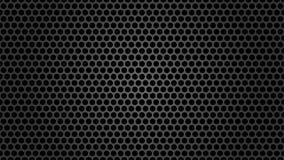 Dark Metal Mesh Texture Background stock illustration