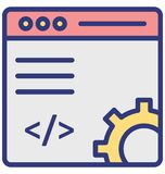 Web development Isolated Vector Icon which can easily modify or edit vector illustration