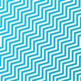 Seamless Interlacing Diagonal Blue and White Zigzag Stripes Texture Background vector illustration