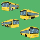 3d the bus driver fare passenger autobus omnibus coach rail bench chair stool armchair seat mattress bolster hassock pad vector il. 3d the bus driver fare stock illustration