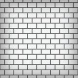 White brick wall vector art stock illustration