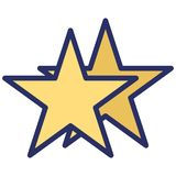 Star Isolated Vector Icon which can easily modify or edit. NStar Isolated Vector Icon which can easily modify or editn royalty free illustration